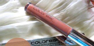 COLORBAR true gloss lipgloss natural tan blog review