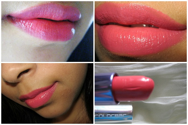 Colorbar Creme Touch Lipstick Passionate lip swatches
