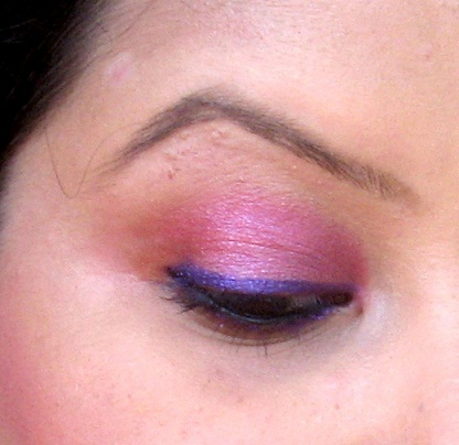 MAC Pearlglide Intense Eye Liner Designer Purple eotd