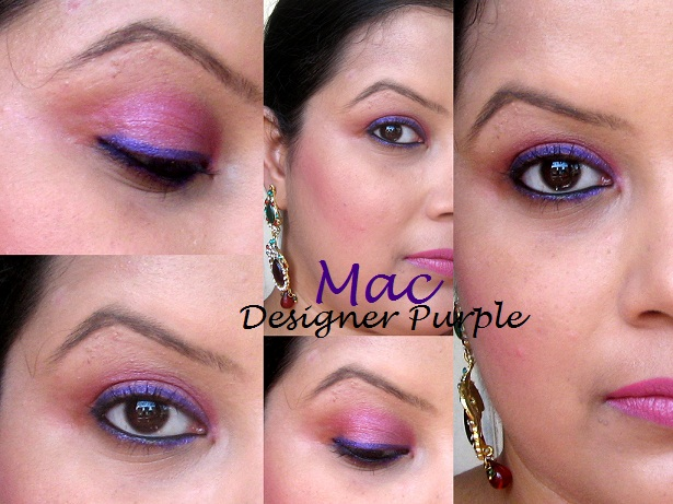 MAC Pearlglide Intense Eye Liner Designer Purple swatches photo gallery