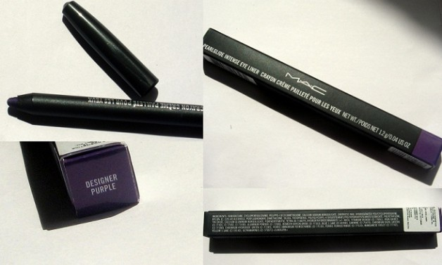 MAC Pearlglide Intense Eye Liner Designer Purple photo