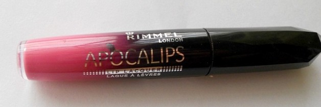 Rimmel London Apocalips Lip Lacquer Nova Review India
