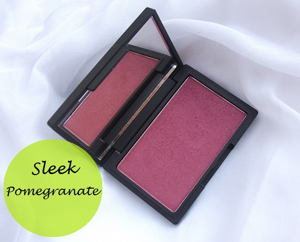 Sleek makeup Pomegranate blush review photo