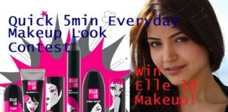 elle 18 makeup look blog contest