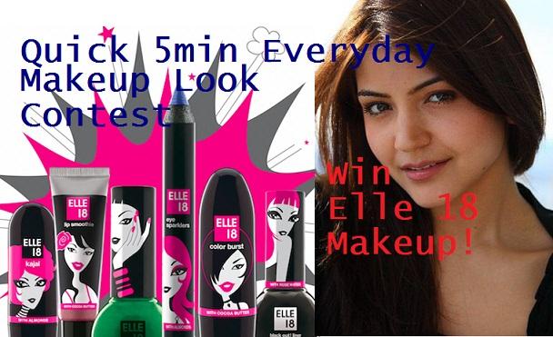 elle 18 makeup look blog contest