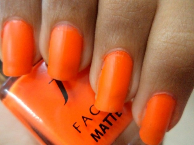 faces fire stick matte nail enamel swatches close up