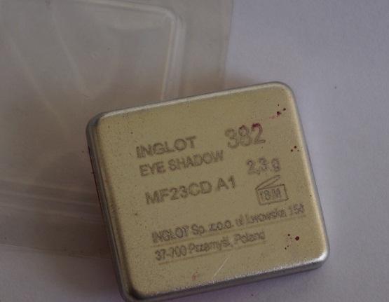 Inglot Freedom System Eyeshadow 382 Matte
