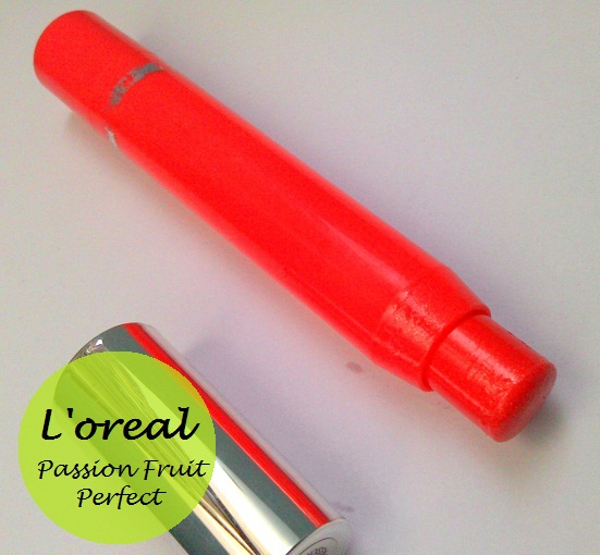 l'oreal paris glam shine balmy gloss passion fruit perfect review