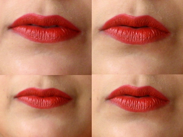 mac chili lipstick lip swatch