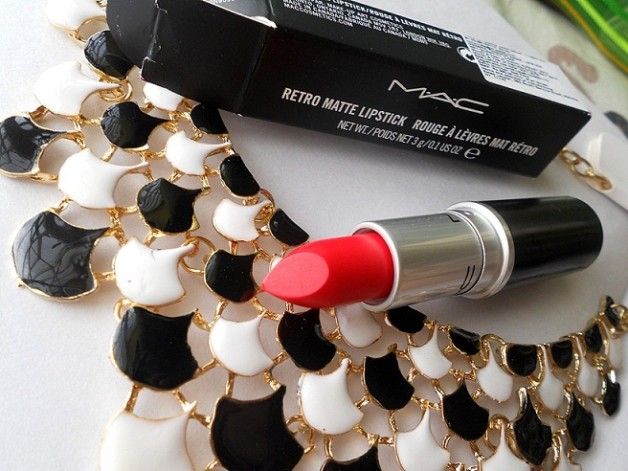 mac dangerous retro matte lipstick