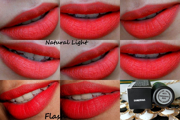 mac dangerous retro matte lipstick lip swatches
