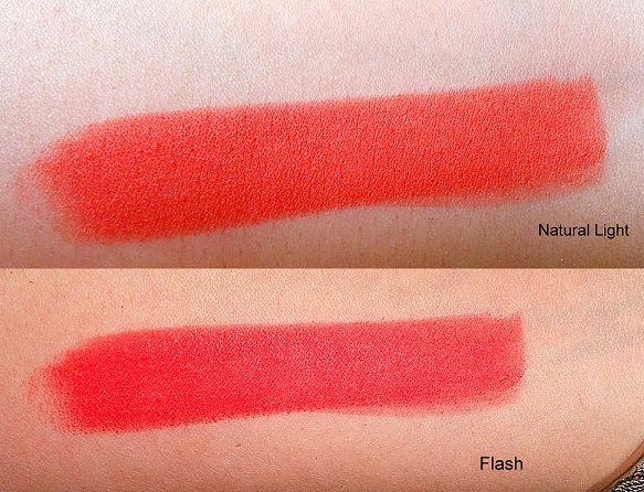mac dangerous retro matte lipstick swatches