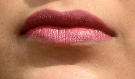mac mehr lipstick lip swatch