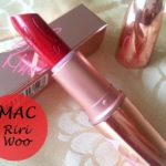 mac riri woo lipstick review