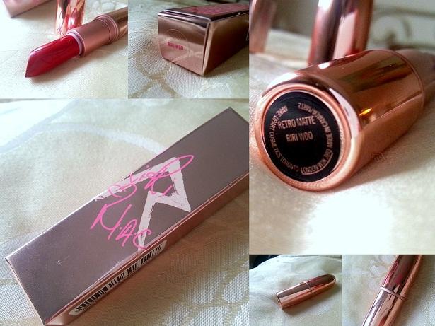 Mac Riri Woo retro matte LE Lipstick