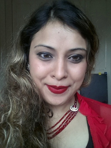mac riri woo lipstick swatch FOTD