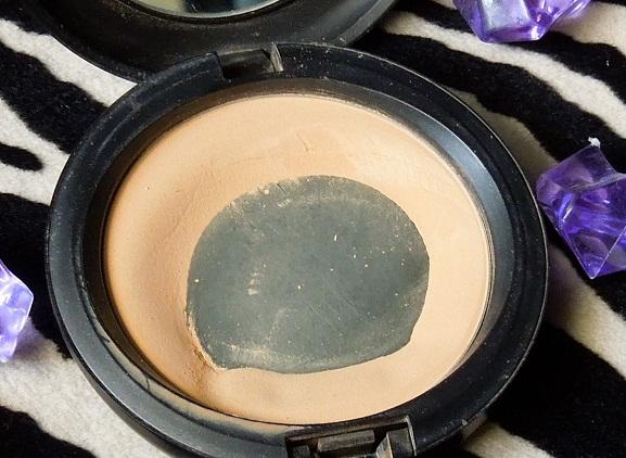 mac select sheer pressed powder review photo