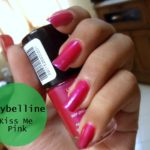 New Launch – Maybelline Color Show Nail Lacquer Kiss Me Pink 003