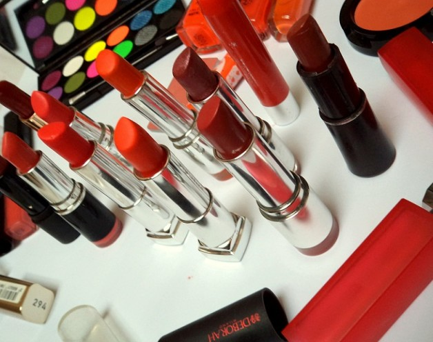 my lipstick collection indian beauty blog