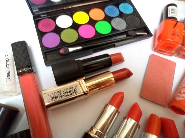 orange eyeshadows for indian skin tones