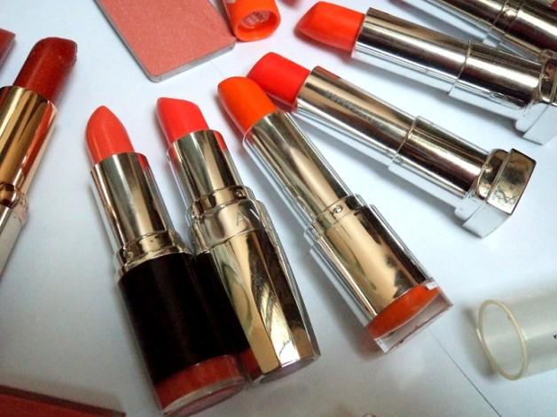 peach coral orange lipsticks in india