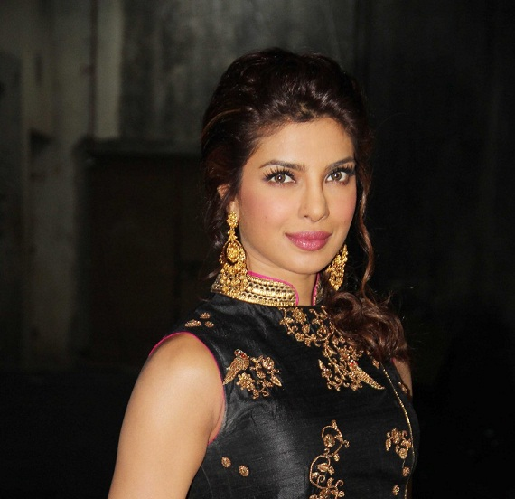 priyanka chopra bigg boss 7 outfit makeup hair photo