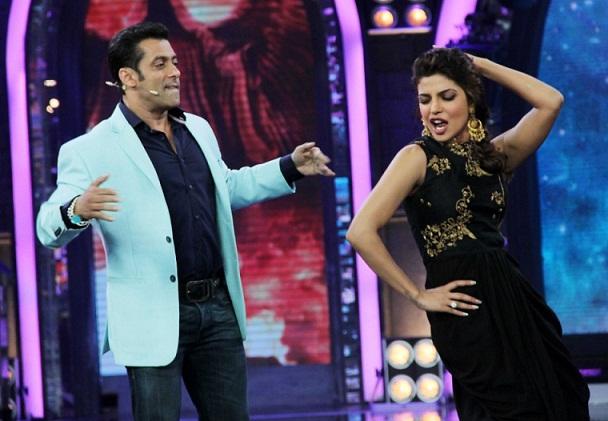 priyanka chopra salman khan bigg boss 7 dance scoop blog