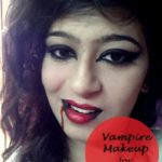 Easy Vampire Makeup Halloween Tutorial for Beginners