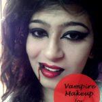 Easy Vampire Makeup Halloween Tutorial for Beginners