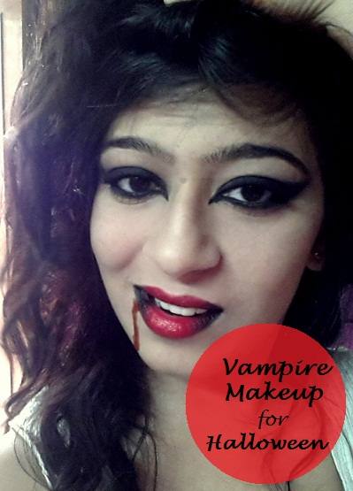 Sexy vampire makeup for brown eyes how to