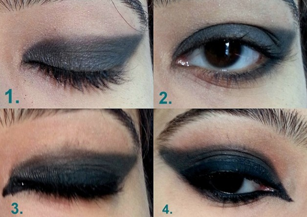 vampire eye makeup tutorial steps for halloween