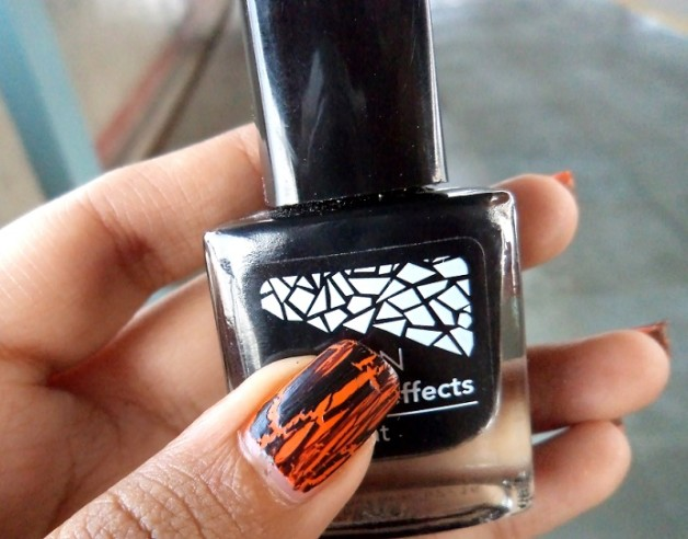 NOTD Avon Mosaic Effects Top Coat black