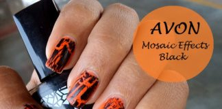 Avon Mosaic Effects Top Coat review swatches