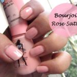 Bourjois So Laque Ultra Shine Nail Polish Rose Satin #36: Swatches and Review