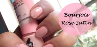 Bourjois So Laque nail paint Rose Satin swatch