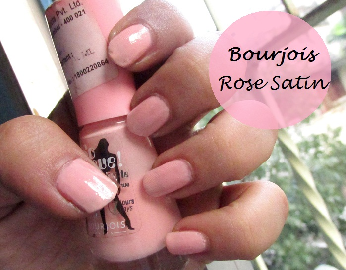 Bourjois So Laque Ultra Shine Nail Polish Rose Satin #36: Swatches ...