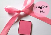 Inglot Freedom System Eye Shadow 362 Matte Review