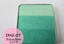 Inglot Freedom System Rainbow Eye Shadow 1353 Review