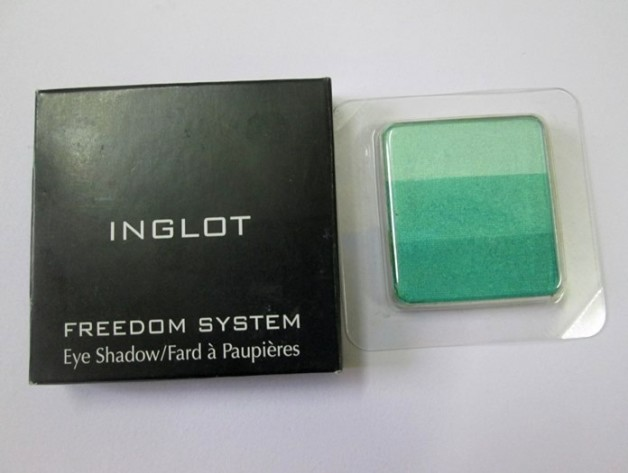 Inglot Freedom System Rainbow Eye Shadow 1353 Review Swatches