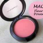 MAC Fleur Power Blush: Swatch, Review and FOTD