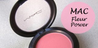 MAC Fleur Power Blush Review india