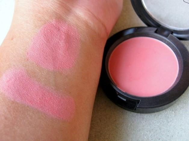 MAC Fleur Power Blush swatches