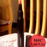MAC So Supreme Sheen Supreme Lipglass Tint Kiss Kiss: Swatches, Review and FOTD