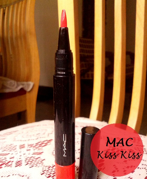 MAC So Supreme Sheen Supreme Lipglass Tint kiss kiss review