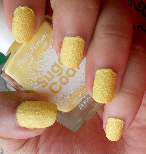 Sally Hansen Sugar Coat Sweetie Nail Polish Review Swatches