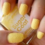 NEW Sally Hansen Sugar Coat Textured Nail Polish Review and Swatches: Sweetie (400)