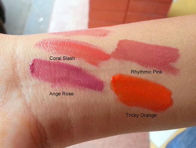 colorbar pout in a pot lipcolors review swatches