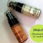 Inglot AMC Face and Body Illuminator 61 and 63: Reviews and Swatches
