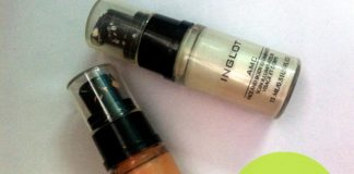 inglot amc face and body illuminator review 61 63 dark skin
