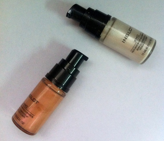 inglot amc face and body illuminator review #61 #63 photos